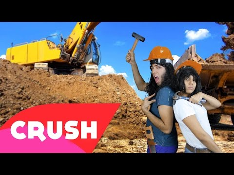 CRUSH  Paródia Fifth Harmony - Work from Home