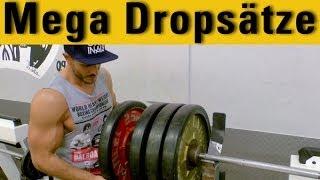 Mega Dropsätze - Lass deine Muskeln explodieren! - Mega Dropsets