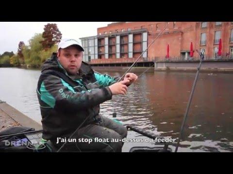 Pêche De La Brème Au Feeder En Rivière