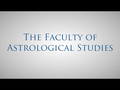 Welcome to the Faculty of Astrological Studies