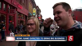 Music City Bowl expected to bring big business