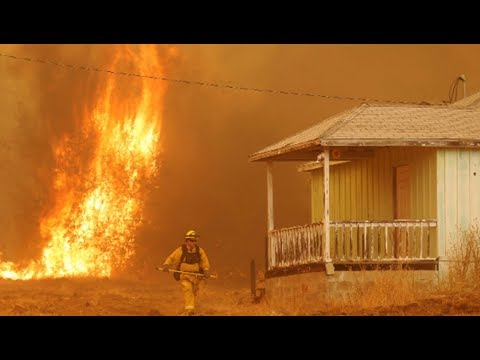 Climate Change and Fire Suppression Fuel Deadliest Blazes in California History