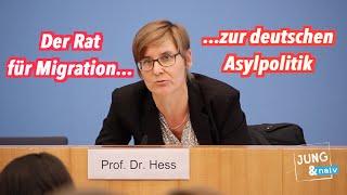 """Sehenswerte BPK mit dem """"Rat für Migration"""" zur deutschen Asylpolitik"""