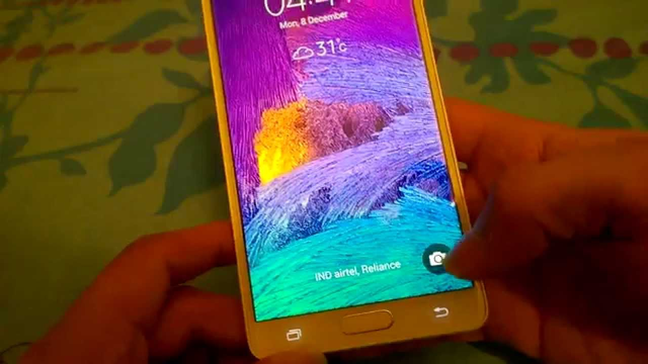 samsung galaxy note 4 n9100 dual sim duos software preview