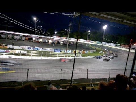 Oswego Speedway Supermodifieds - Saturday, August 20th, 2016