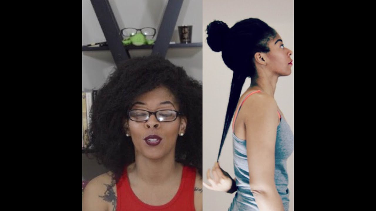 Almost Waist Length 4c Natural Hair Chit Chat Youtube