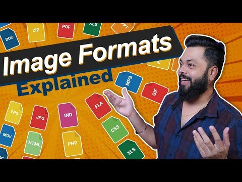 Image File Formats Explained ⚡⚡⚡ JPEG, RAW, PNG, GIF, TIFF &