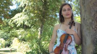 Eva Zavaro introduction - Sibelius Violin Competition 2015