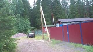 Столбы под #электричество в садоводстве п. Рощино. #2 Деревянные опоры под свет(, 2016-07-07T22:36:47.000Z)