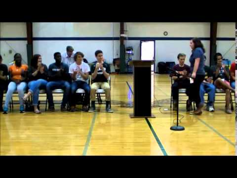 Fredericksburg Academy End-of-Year Assembly 2015