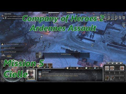 COH2 Ardennes Assault: Mission 5 Cielle (General)