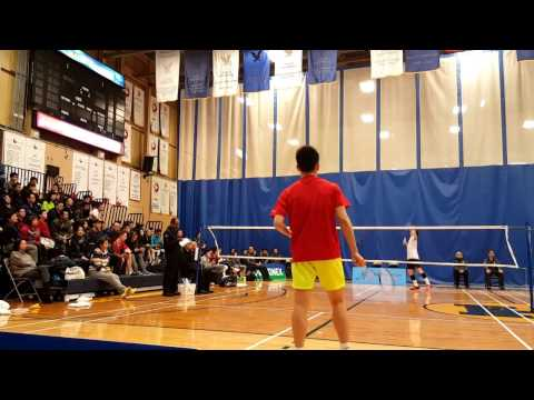 Toronto open 2017 Badminton MS SF