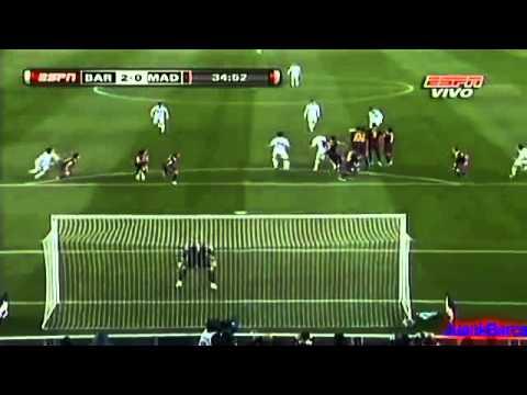 FC Barcelona 5 - 0 Real Madrid C.F // Resumen De Goles Y Mejores Jugadas (ESPN).