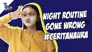 Gambar cover The Baldys - Night Routine Gone Wrong #ceritanaura