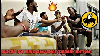BLAZIN' BUFFALO HOT WING CHALLENGE (LIBRARY EDITION!!!!)