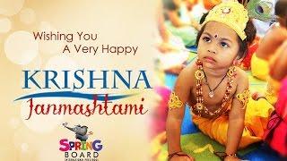 Krishna Janmashtami Celebrations @ Spring Board Preschool, Pragathinagar