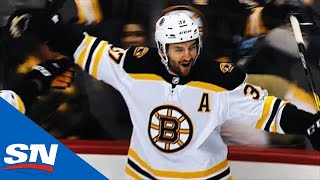 Patrice Bergeron Beats Matt Murray Five-Hole 11 Seconds Into Game