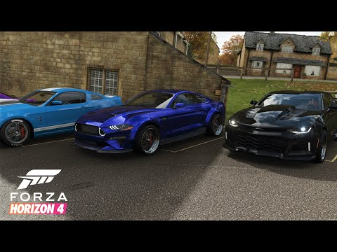 "Forza Horizon 4 | All Out ""TX2K"" Meet - Cruise & HWY Runs w/ 1850+HP RTR Mustang, Lambo, GTR, & More thumbnail"