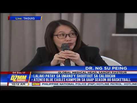 Dengvaxia won't cause severe dengue  Sanofi