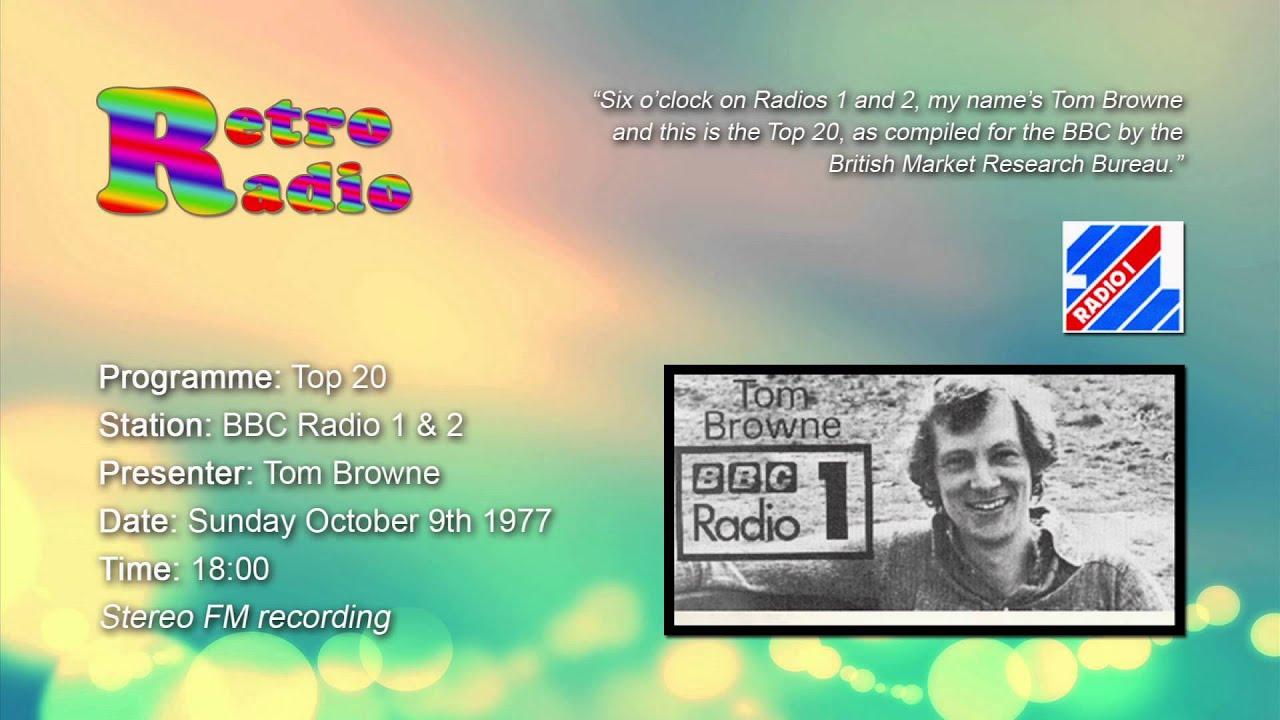 BBC Radio 1 Simon Bates UK Top 20 Singles Chart ... - YouTube