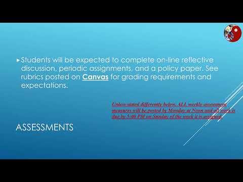 PA6622 Public Policy Intro Video