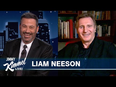 Liam Neeson Reveals Worst Stunt He's Ever Done, Possibility of Obi-Wan Cameo & Takes a Killer Quiz