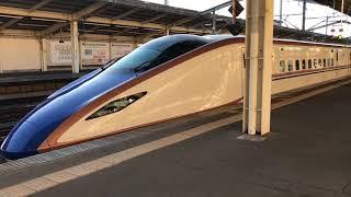 E7系 あさま620号 熊谷駅 発車