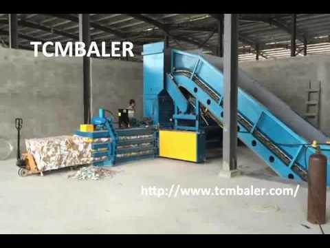 TCM BALER corrugated carton box balers Algeria  Ethiopia  Ghana