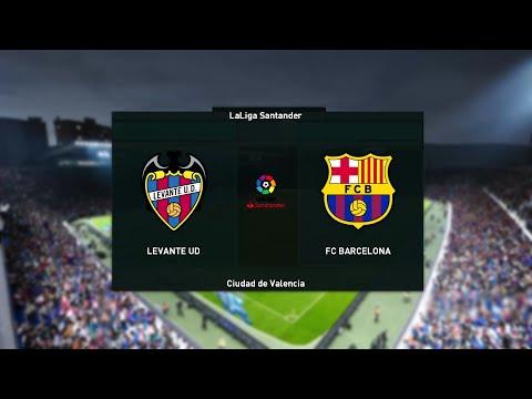 Levante vs Barcelona - La Liga [11th May 2021] - PES 2021