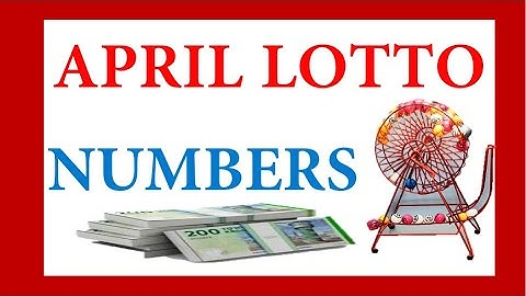 How To Win Lotto In April