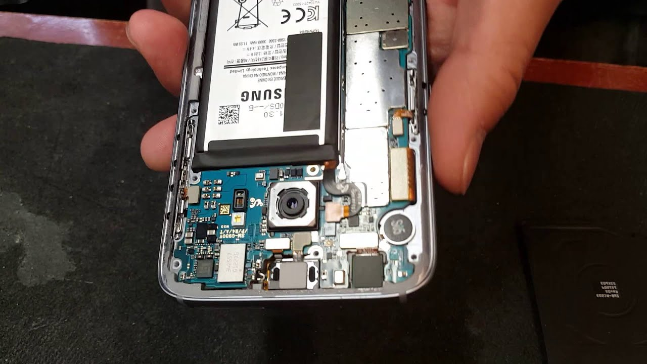 Galaxy S7 Disassembly Sim Card Stuck Removal Youtube