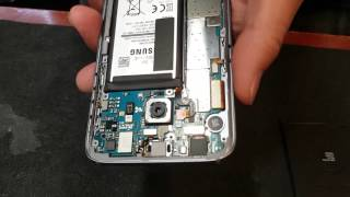 Galaxy s7 disassembly,  sim card stuck removal