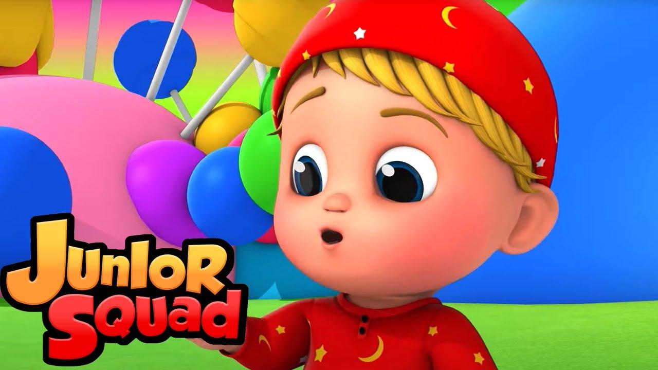 Тише маленький ребенок | потешки | мультфильмы | Junior Squad Russia | детская музыка