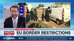 EU border restrictions: Bloc recommends gradually reopening external borders from 1 July