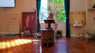 Deena Bandhu Prabhu gives class, Part 1, July 16, 2019