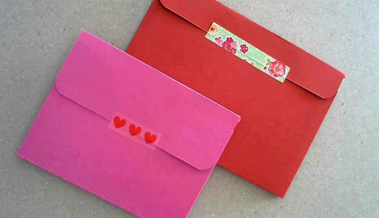 Colored card stock and envelopes -  Thick Envelope Out Of A4 Cardstock Diy For Shaker Cards Or Bulky Embellished Cards Youtube