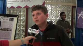 Tulin Reports for News 8 from the Magnet Fair