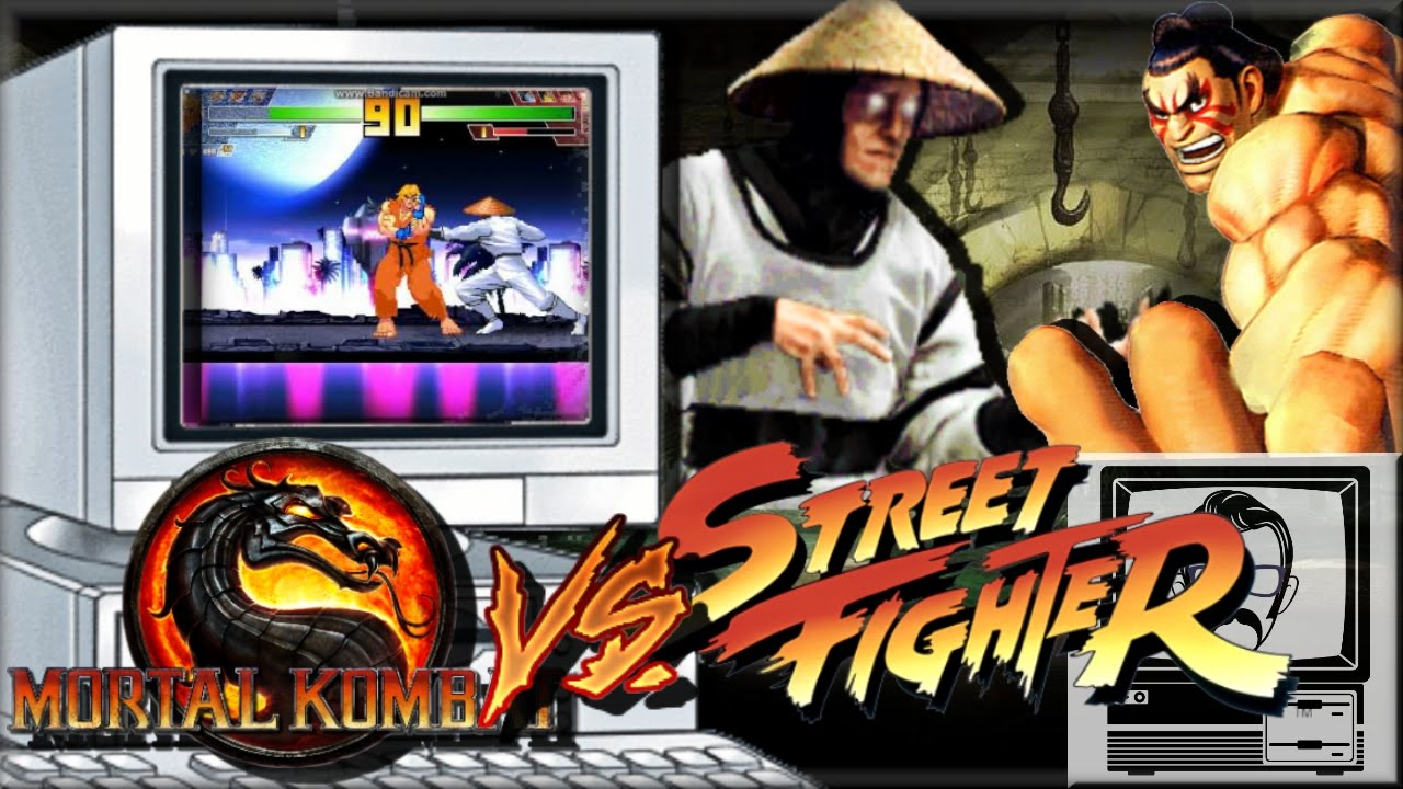 Mortal Kombat Vs Street Fighter Quick Play Nostalgia Nerd