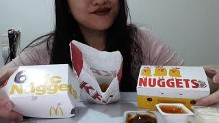Asmr Chicken Nuggets Mukbang No Talking Eating Sounds