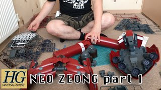 HG Neo Zeong Time Lapse (Part 1) Mobile Armour