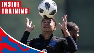 Sharp Shooting Ahead of Tunisia Clash! | Inside Training | World Cup 2018
