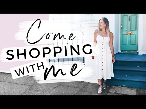 COME SHOPPING WITH ME! | Hello October