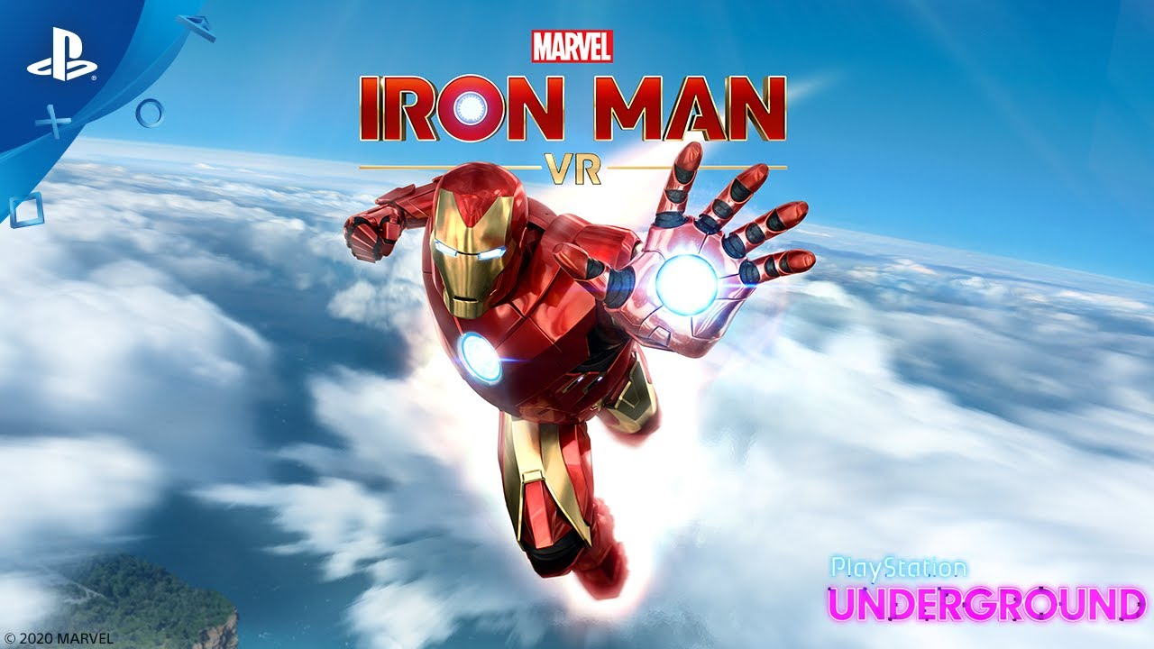 Marvel's Iron Man VR – Gameplay-demo | PlayStation Underground