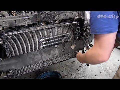 Opel Insignia - установка радиатора охлаждения АКПП