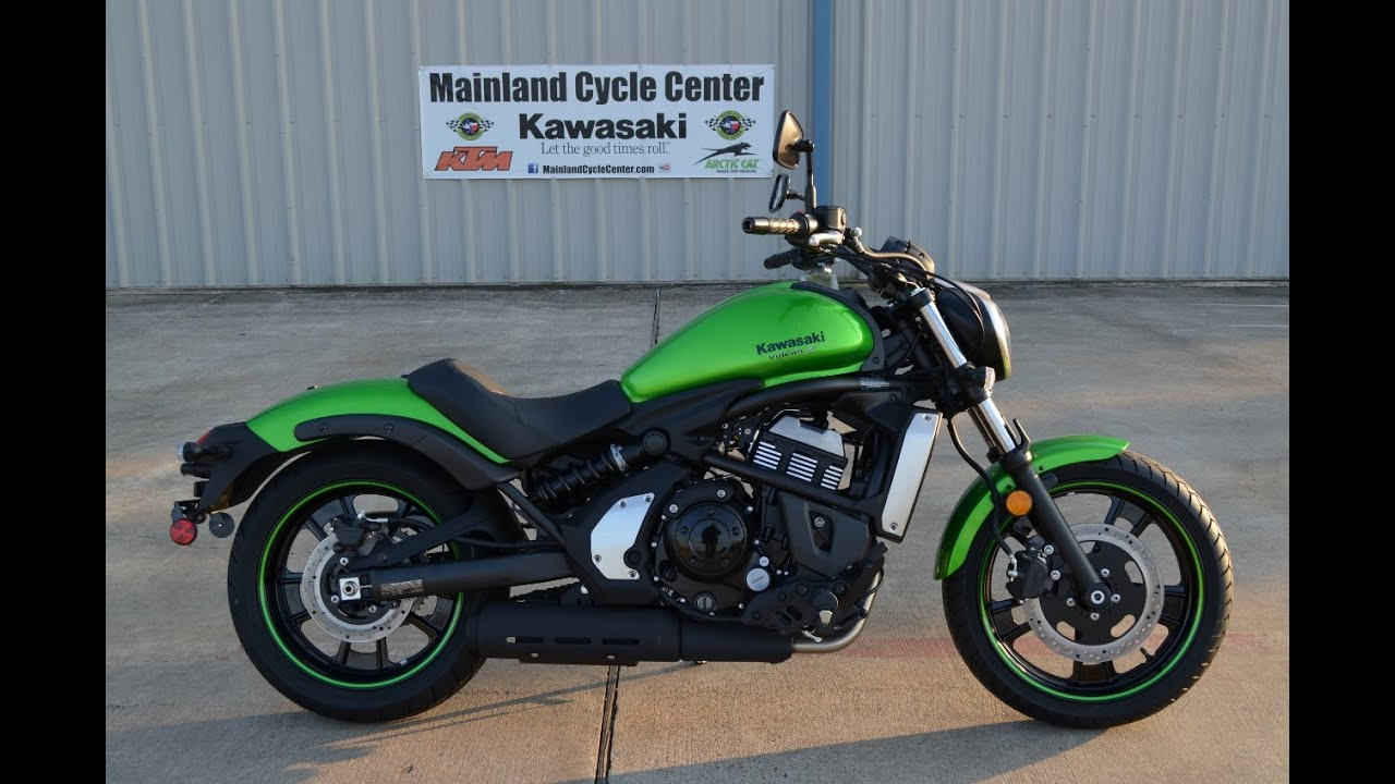 6 999 2015 Kawasaki Vulcan S Candy Lime Green Overview