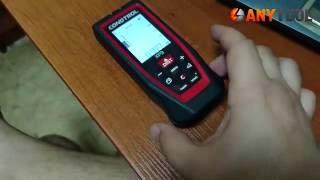 видео Лазерный дальномер-рулетка CONDTROL XP4