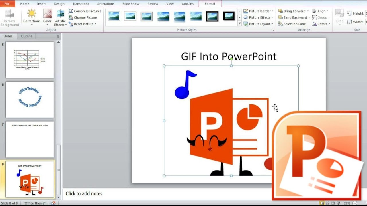 How To Add Gif To Powerpoint 1