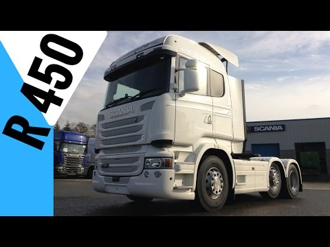 2016 SCANIA R450 Truck - Full Tour + Drive - Stavros969
