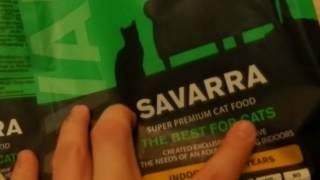 корм для пушистых кошек и котов