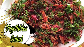 Grated Beetroot Salad Recipe  Simple Healthy and Tasty  Angelann Brent